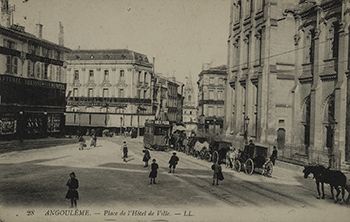 Carte postale - photo d'une rue